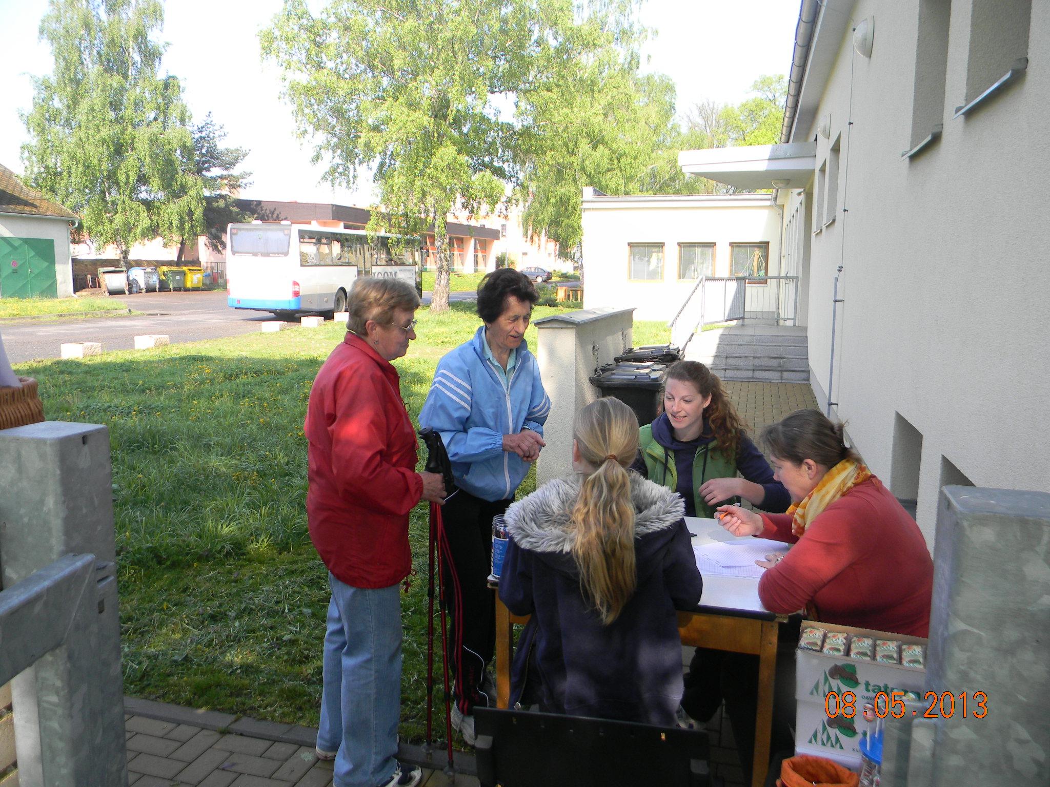 Zápis účastníků